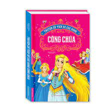 Sách - Truyện cổ tích về các nàng công chúa (bìa cứng)