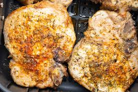 perfect air fryer pork chops my