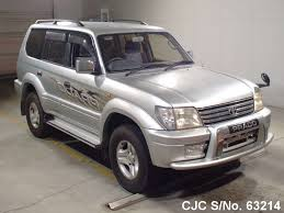2001 Toyota Land Cruiser Prado Silver for sale   Stock No. 63214 ...