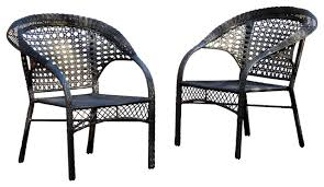 image black wicker outdoor furniture. Absolutely Smart Black Wicker Outdoor Furniture Sets By Jaco Clearance Image