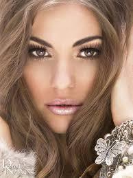 hair color and makeup on bridal makeup brown eyeakeup for brown eyes