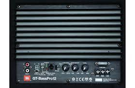 jbl amplifier. jbl-gt-bass-pro-12-c jbl amplifier