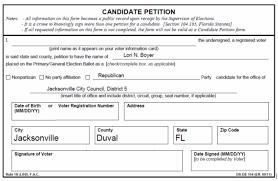 Petition Forms Lori Boyer