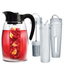 black flavor it with tea and fruit infuser with chill core