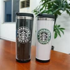 starbucks travel coffee mugs. Unique Travel Starbucks Double Wall Mug Flexible Cups Coffee Cup Tea Travelling Mugs  Wine Personalized Stainless Steel Travel  To