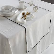 Дорожка столовая из <b>стиранного</b> льна, taraka Am.Pm | <b>La Redoute</b>