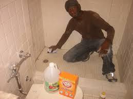 cleaning bathroom with vinegar magnificent on regarding terrific clean bathtub baking soda photo decor 20