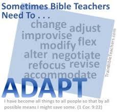 Adaptable Bible Teacher