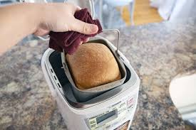 Remove the bread from the machine when it's done. Zojirushi Bb Hac10 Home Bakery Mini Breadmaker Review Compact