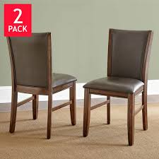Dining Chairs Costco - Brown dining room chairs