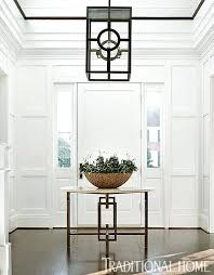 entry foyer table. Traditional Round Entry Table Large Foyer Dining Room Transitional With On Black Pedestal
