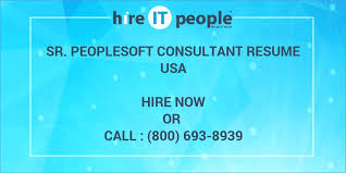 People Soft Consultant Resume Amazing Edi Consultant Resume Nppusaorg