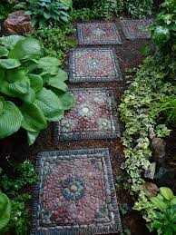 30 beautiful diy stepping stone ideas to decorate your garden how to make