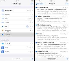 mailbox with mail indicator. Modren Mail Mail IOS 9 Show Unread Mailbox IPhone Screenshot 003 Throughout Mailbox With Indicator I