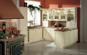 kitchen cabinets traditional antique white red wall retro oven glass favorite pictures of kitchens off