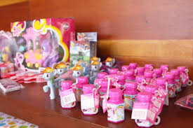 favors from a my little pony birthday party via kara s party ideas karaspartyideas com