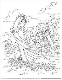Viking Coloring Pages Printable Jokingartcom Viking Coloring Pages