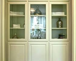 floor cabinets with glass door fabulous floor cabinet with glass doors glass door linen cabinet burrows