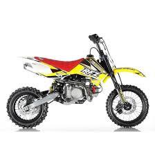 rfz 140r race spec pit bike yellow