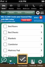 College Packing List App College Packing List App Review Remember All The Key Items Apppicker
