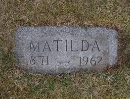 Matilda Jacobson (1871-1962) - Find A Grave Memorial