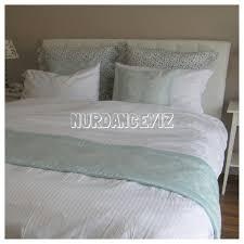 hotel style white bedding oversized