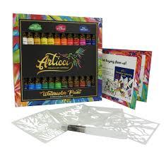 Watercolor Paint Set 24 Colors Articci