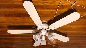 hampton bay carousel ii ceiling fan 44 white blades