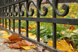 steps to prepare a wrought iron fence and railing for paint
