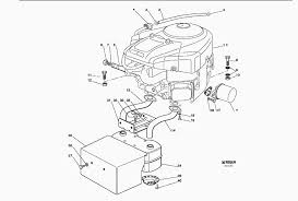 push mower engine diagram diagram spare parts lists for solo lawn mower engine 18 hp bs tcp102