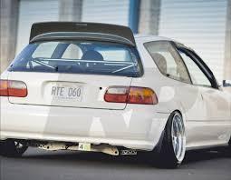 Aleron Bys Para Honda Civic 92-95 Eg 3 Puertas Hatchback - $ 2.000 ...