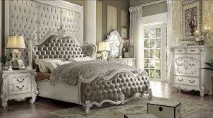 hollywood swank bedroom set. Brilliant Hollywood Romantic Hollywood Swank Bedroom Set With King Size Wooden Bed Frame White  Painted Carving Furniture  Intended I