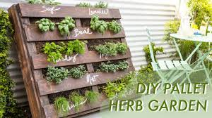 how to make an herb garden. Brilliant Herb DIY Shipping Pallet Herb Garden  Makeful Intended How To Make An E