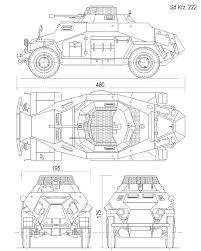 Sdkfz 222 blueprint