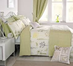 beautiful duvet cover with a botanical print incorporating a fl and erfly print using a high quality polyester cotton fabric