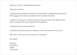 Awesome Collection Of Thank You Letter After Phone Interview Best