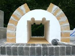 outdoor fireplace pizza oven wood fired brick and by the family combination plans