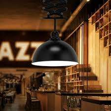 black 1 bulb down lighting antiqued