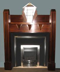 1930 s art deco style fireplace