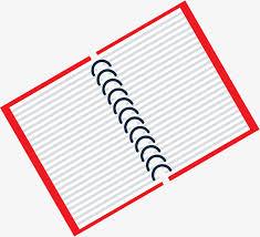 cartoon flat notebook business design notebook cartoon png and vector