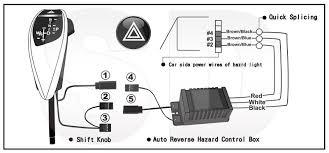 led shift gear knob auto reverse hazard lhd for bmw e e shift gear knob