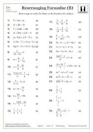 grade 7 math worksheets algebra grade equations