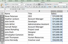 Salary Chart In Excel Format 15 Excel Formulas Keyboard Shortcuts Tricks Thatll Save