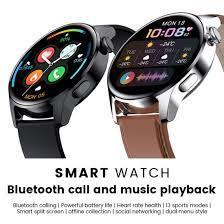 Đồng Hồ Thông Minh Uonevic Watch 3 1.28Inch Màn Hình Cảm Ứng Đầy Màu Sắc  Cuộc Gọi Bluetooth Thời Gian Chờ Lâu, Dành Cho Nam Nữ Dành Cho IOS Android  Dành Cho