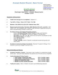 Student Resume-Format-A