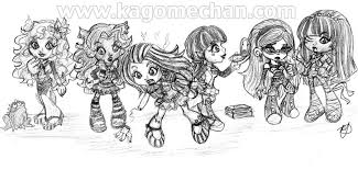 Small Picture Monster High Chibi Group Heart Link Deviantart Bebo Pandco