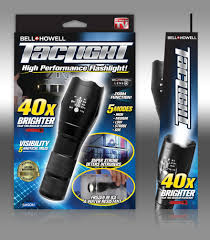 Tac Lights Bell Howell Taclight Led Flashlight With 5 Modes As Seen On Tv Walmart Com