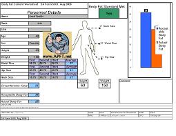 Apft Body Fat Chart Army Body Fat Calculator Army