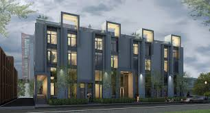Edition/Richmond, an award-winning contemporary townhouse project in the  popular Queen West