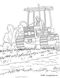 Coloriages Tracteur Colorier Fr Hellokids Com